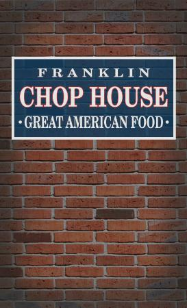 Franklin Chop House: Cover page for menu 03/815