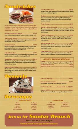 Franklin Chop House: Page 4