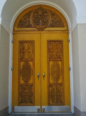 One Of Three Front Doors Picture Of Good Shepherd Catholic Church