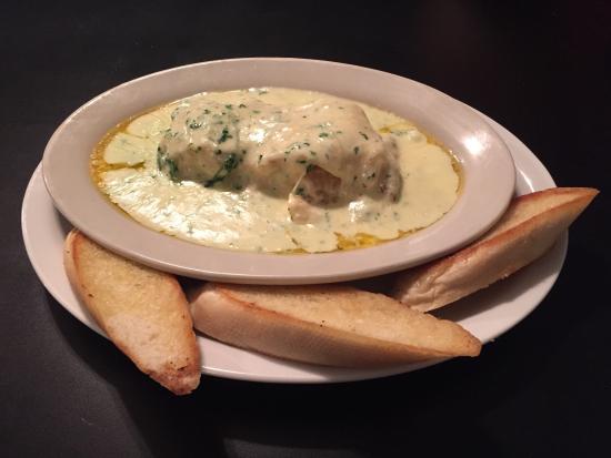 Λονγκ Μπιτς, Ουάσιγκτον: Crab soup and lasagna