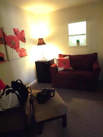The Washington Hotel : Sitting Room in Room 2