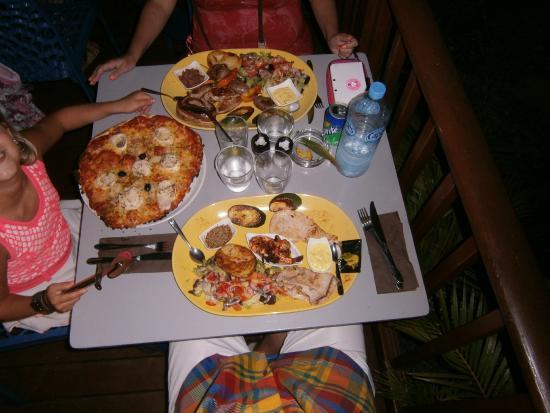 Le Mahina : Belles assiettes au Mahina