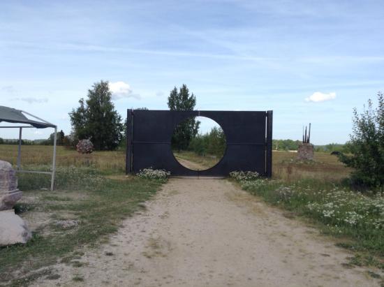 Open-Air Art Museum at Pedvale: Вход в музей