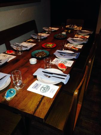 bar agricole : Private dinner