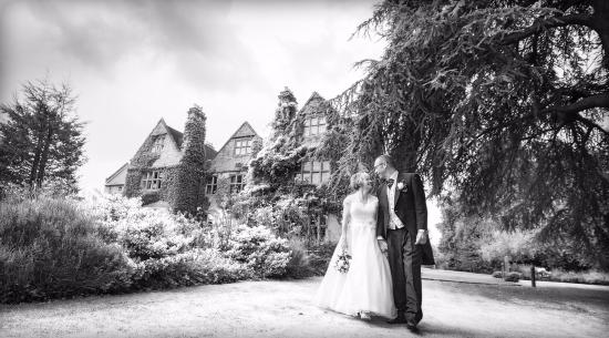 Bulkington, UK: Our wedding day with fantastic scenery for pictures