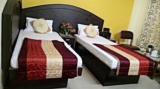 Hotel Su Shree Continental: Twin Bed Room View