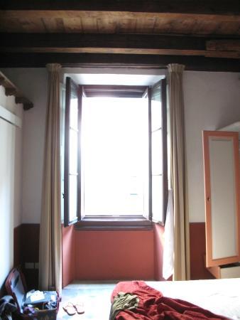 Antica Sosta dei Viandanti: Bedroom window.