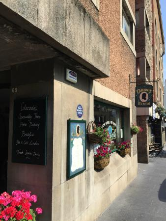 Photo of Cafe Clarinda's Tea Room at 69 Canongate, Edinburgh EH8 8BS, United Kingdom