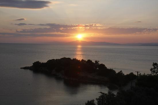 Lefokastro, Hellas: Evening view