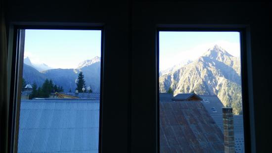 Hotel Pied Moutet : Veduta dalla camera n. 23