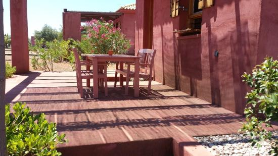 Eumelia Organic Agrotourism Farm & Guesthouse: Patio
