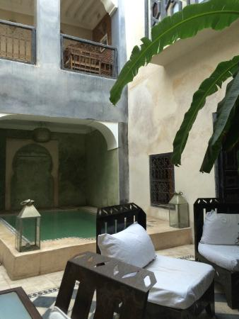 Riad Alamir: Lovely spot to have breakfast