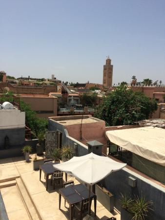 Riad Alamir: Great place to chill on the roof terrace