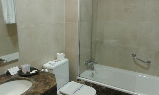 Hotel Sterling: bathroom