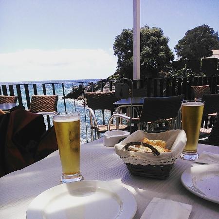 Bar Caloura: Vistas en Caloura