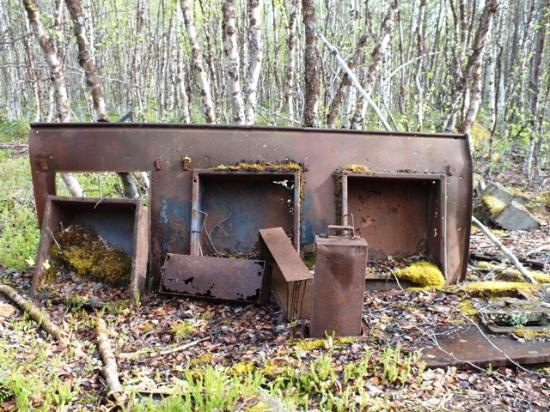 Skoganvarre, Norway: Feldlazarett