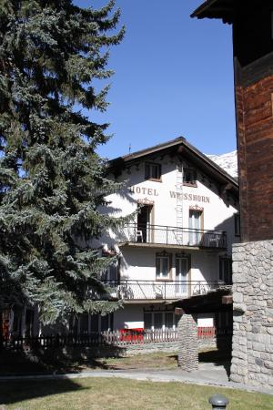Hotel Weisshorn: Rear view