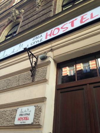 Riga Style Hostel : Esterno ostello