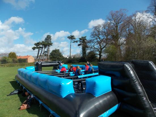 Sandiway, UK: Human Table Football