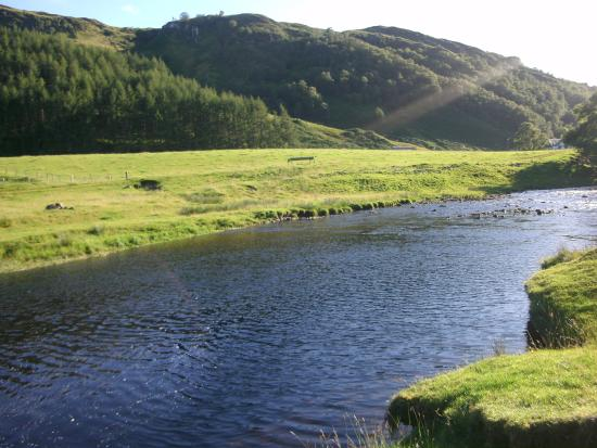 Argyll en Bute, UK: River Euchar