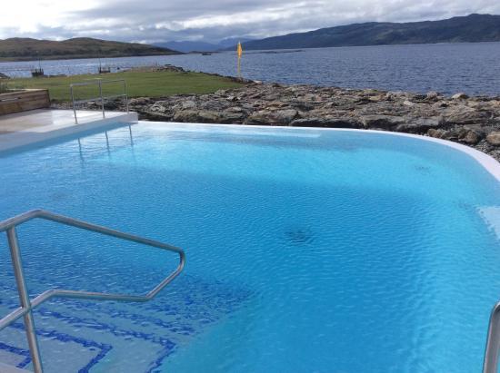 Infinity Pool Overlooking Loch Fyne Picture Of Portavadie Portavadie Tripadvisor