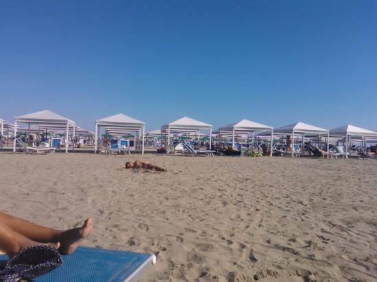 spiaggia - Foto di Bagno Stella, Marina di Pietrasanta - TripAdvisor