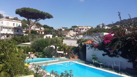Hotel Villa Janto: Piscina e idromassaggio