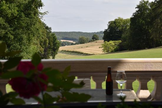 St-Denis-le-Thiboult, Frankrike: Venez déguster une de nos bières sur la terrasse de Belmesnil