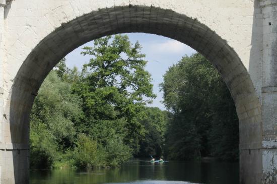 Chisseaux, ฝรั่งเศส: arche de chenonceau