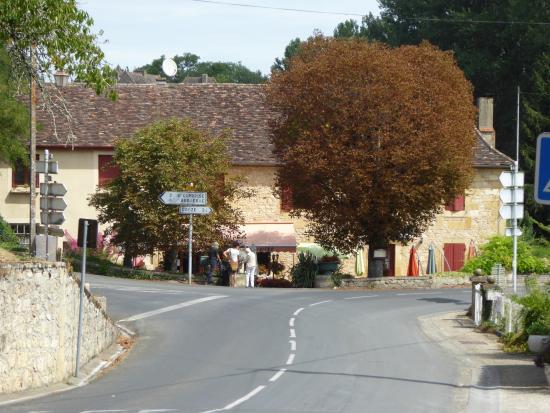Lanquais, Prancis: Auberge des Marronniers