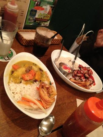 AALAWI: Jerk chicken and curry at Aalawai