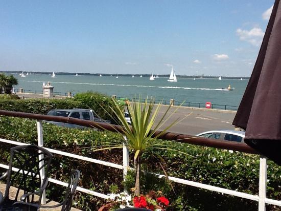 Best Western New Holmwood Hotel: Sea view