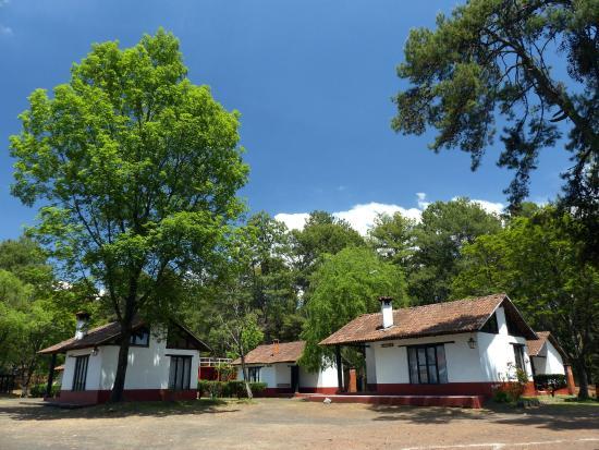 Centro Turistico de Angahuan: As cabanas.