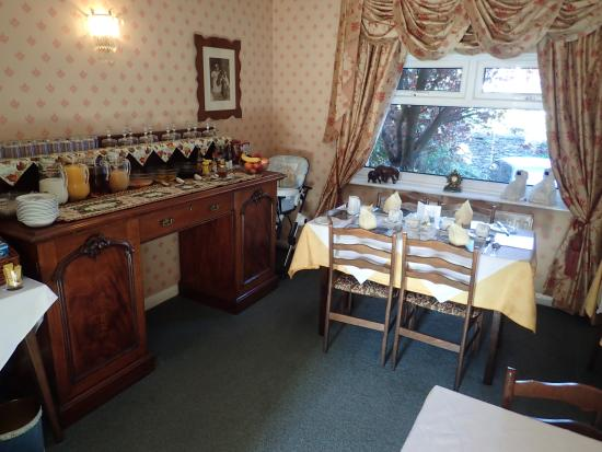 Rayrigg Villa Guest House: 朝食会場
