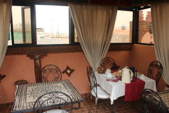Riad Dar Salam: Terrace