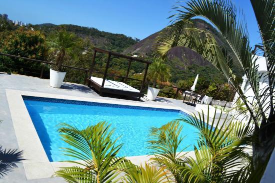 The Villa: Vista linda.