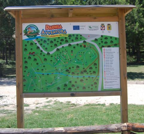 Biccari, إيطاليا: Cartina
