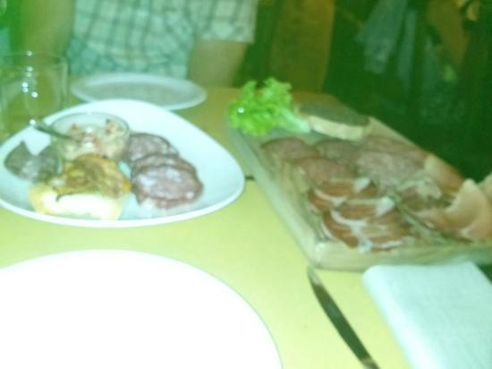 La Taverna di San Giuseppe: piatto del passato - antipasto