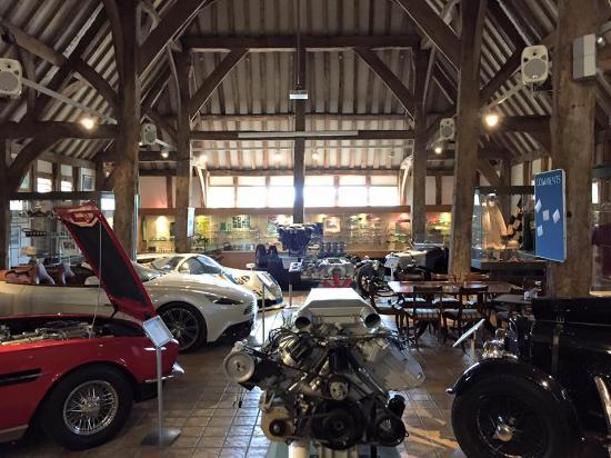 Wallingford, UK: Aston Martin Heritage Trust Museum