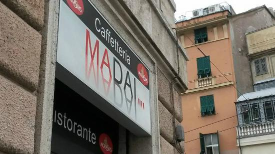MaDai...Bar-Ristorante: L'insegna della Caffetteria Ma Dai di Genova