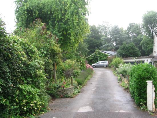 Milton Abbas, UK: Entrance drive