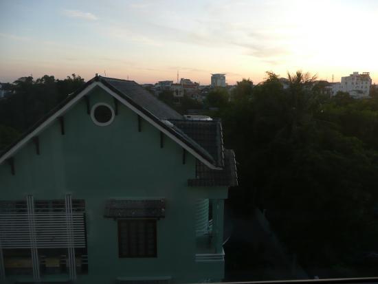 Vina Hotel Hue: House opposite from room 506