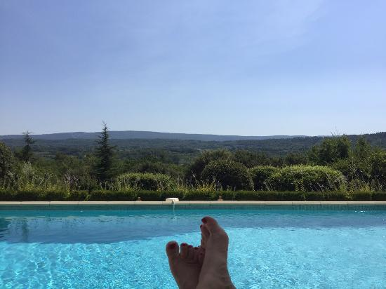 Lou Baou - a pool with a view