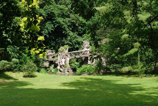 Jardin anglais photo de albert kahn musee et jardins for Plan jardin anglais