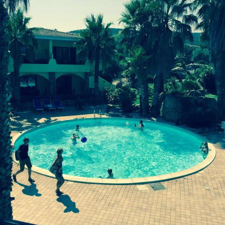 Great location, lovely pool area