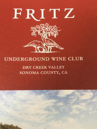 Fritz Underground Winery: Wine Club