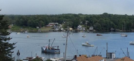 Pemaquid, ME: The harbor.