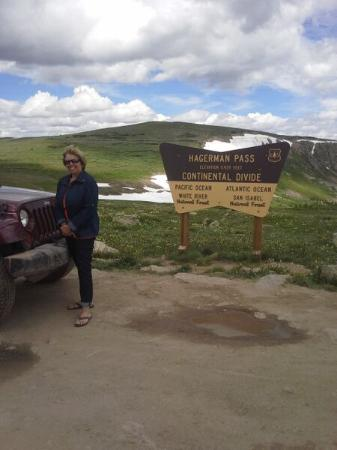Leadville, CO : Top of Hagerman Pass