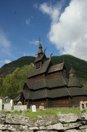 Borgund Stave Church: staafkerk Borgund