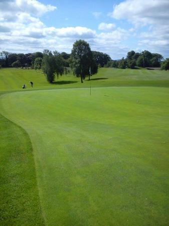 7th hoile at Moate Golf Club